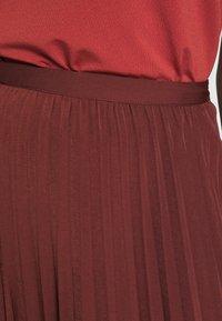 Rosemunde - A-line skirt - chestnut red - 5