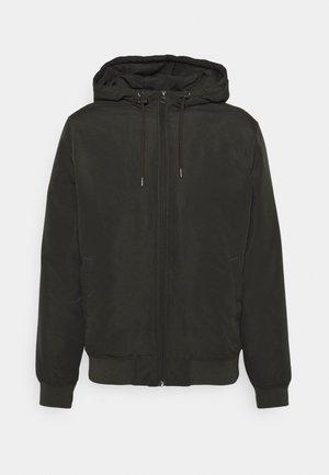 ONSMASON HOOD JACKET - Winter jacket - peat