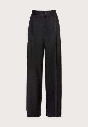 ALIYA TROUSERS - Trousers - black