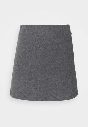 VMESRA SHORT SKIRT - Mini skirt - dark grey melange