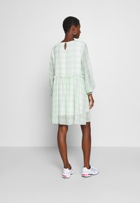 Love Copenhagen - EDWINA DRESS - Kjole - white/green - 2