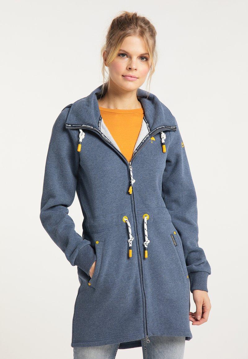 Schmuddelwedda - Zip-up hoodie - marine melange