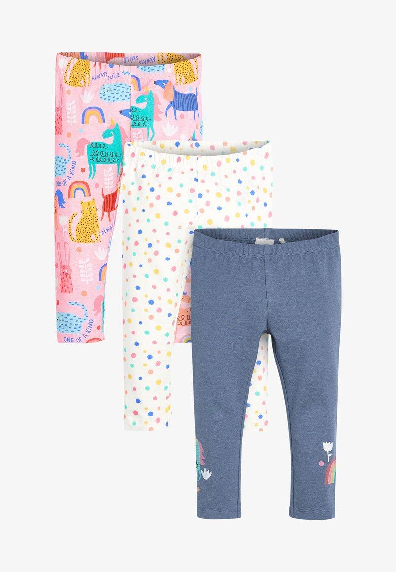 Next - 3 PACK - Leggings - Trousers - dark blue