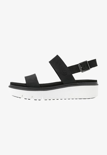 SAFARI DAWN  - Sandały na platformie - black