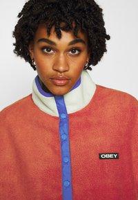Obey Clothing - JUNIPER POPOVER - Fleecegenser - orange - 3