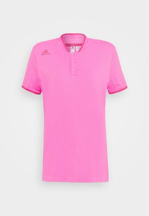 PRIMEKNIT SHORT SLEEVE - Triko s potiskem - screaming pink