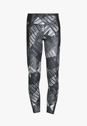 BE BOLD 7/8 - Collants - black/grey/white