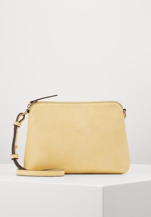 ZIP TOP CROSS BODY - Bandolera - lemon