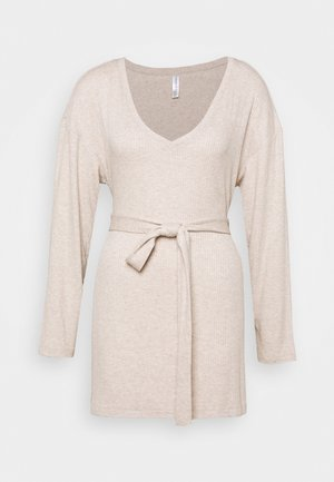LOUNGE FILIPPA - Camicia da notte - beige melange