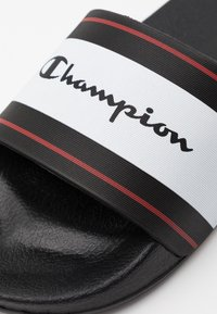 Champion - CLEARWATER - Chanclas de baño - new black - 5