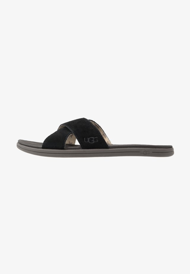 BROOKSIDE SLIDE - Muiltjes - black
