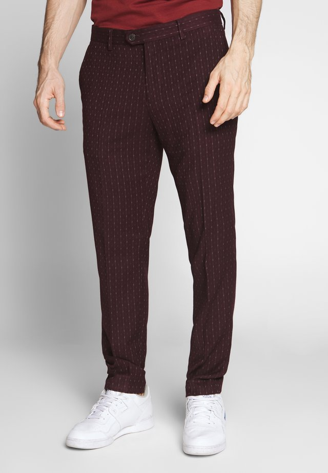 MOTT CLASSIC IN YARN-DYED PATTERN - Chino kalhoty - combo