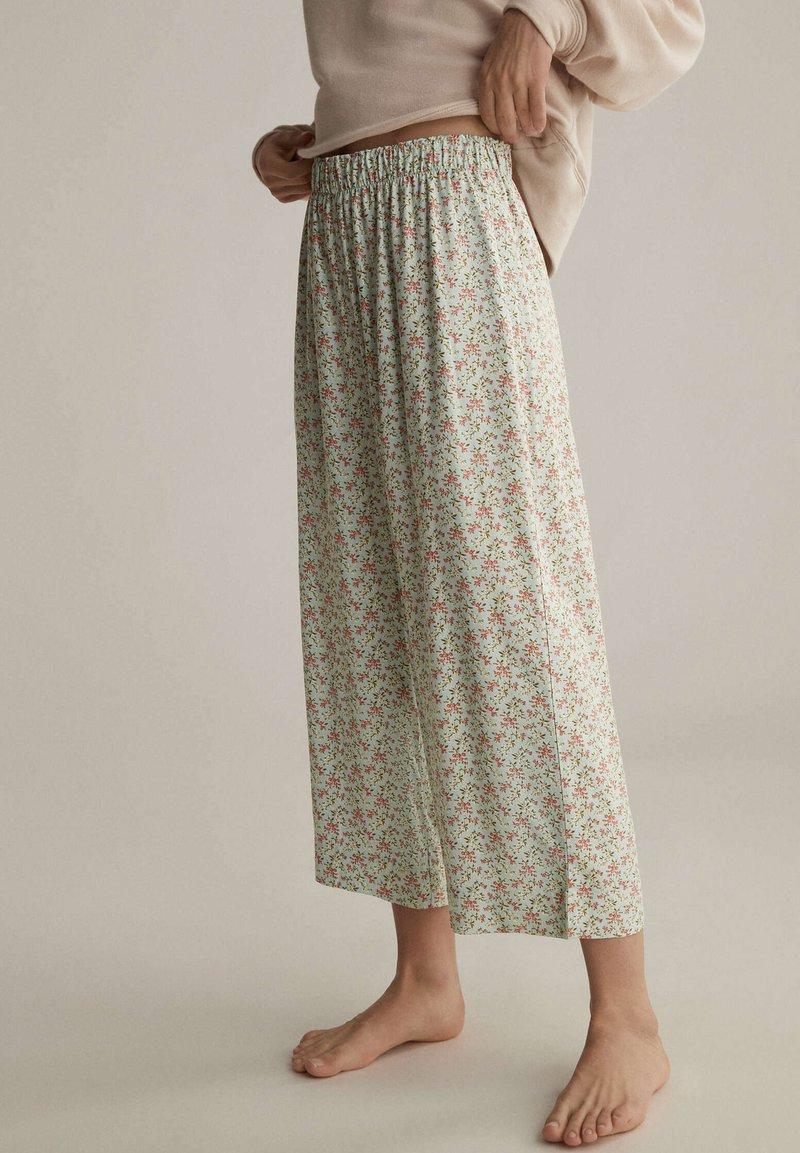 OYSHO - Pyjama bottoms - turquoise