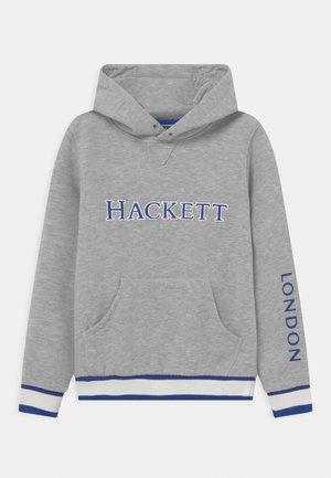LOGO HOODY - Sweatshirt - grey marl