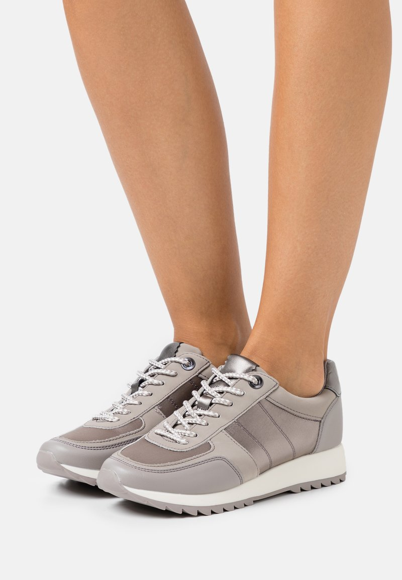 PARFOIS - Zapatillas - grey/silver