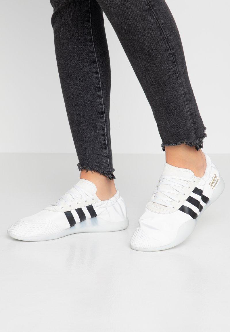 adidas Originals - TAEKWONDO TEAM - Sneakers - crystal white/core black/footwear white