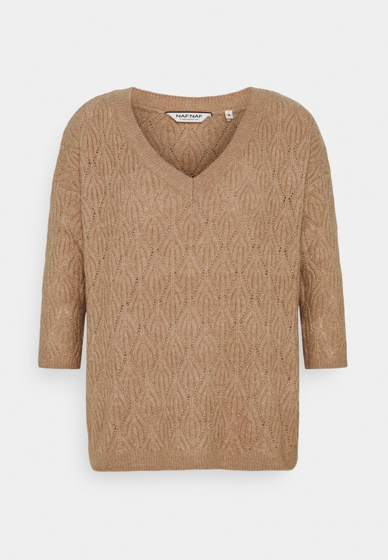 NAF NAF - FANCY - Strikpullover /Striktrøjer - rose sable