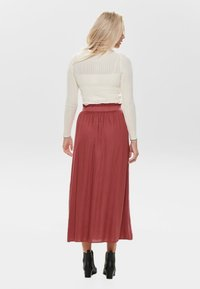 ONLY - Pleated skirt - cowhide - 2