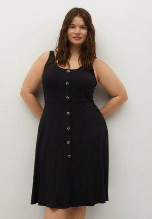 REMI - Shirt dress - schwarz