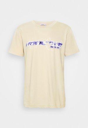 UNISEX - Trükipildiga T-särk - beige
