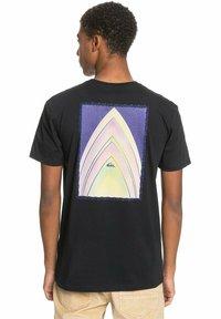 Quiksilver - Print T-shirt - black - 0