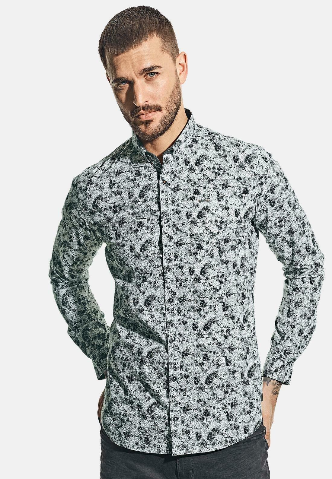 Herren LANGARM MIT ALL-OVER-PRINT - Hemd