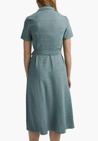 Esprit - Shirt dress - turquoise - 4