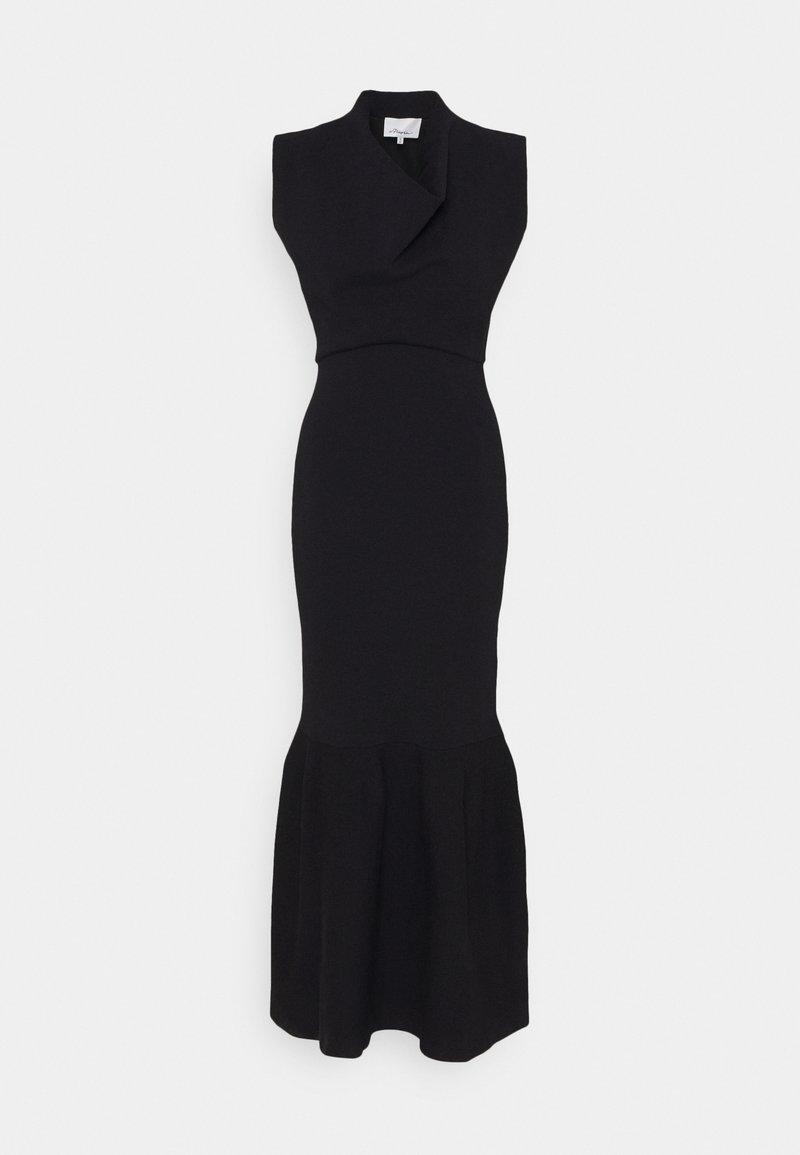 3.1 Phillip Lim - MILITARY COWL NECK DRESS SLIT - Vestido informal - dark blue