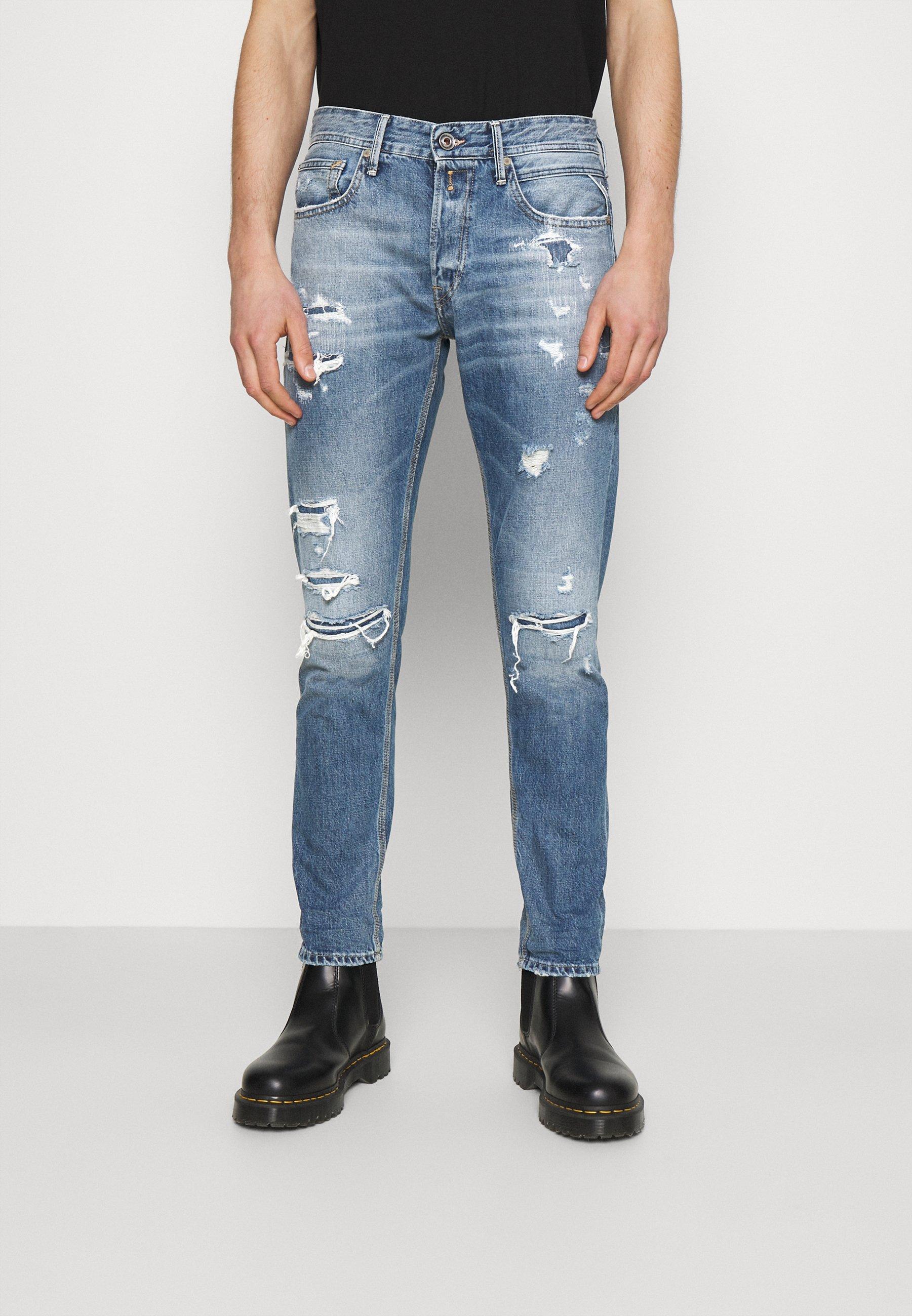Uomo WILLBI AGED - Jeans slim fit