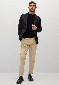 Mango - ROSS - Basic T-shirt - black - 1