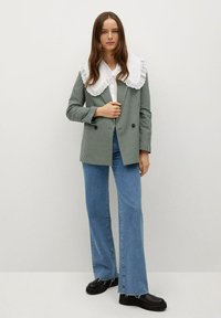 Mango - CHARLOTT - Manteau court - green - 1