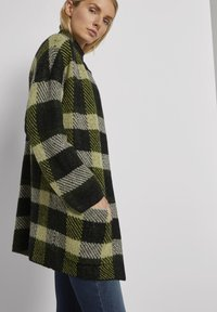 TOM TAILOR - Cardigan - black yellow check knitted - 3