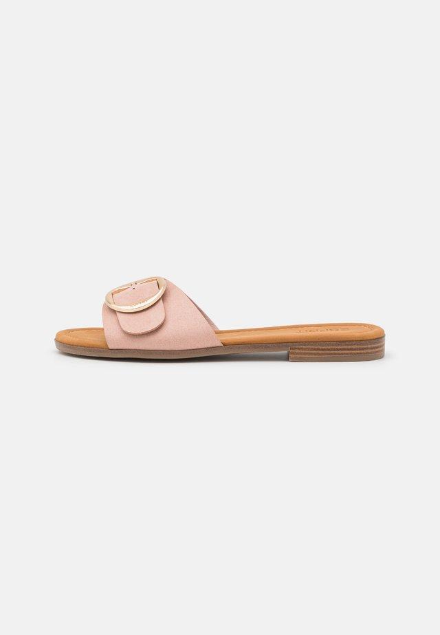 NILLA SLIP ON - Mules - nude