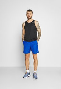 Nike Performance - RUN TANK - Top - black/silver - 1