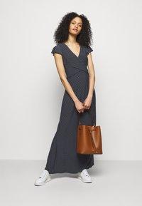 Lauren Ralph Lauren - PRINTED MATTE DRESS - Maxi dress - lighthouse navy - 1