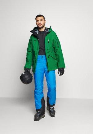 MENS BACKSIDE JACKET - Ski jacket - green