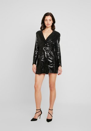 FABULOUS SEQUIN SUIT DRESS - Cocktail dress / Party dress - black