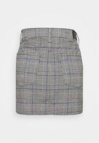 American Eagle - HIGH RISE MINI - Mini skirt - glacier gray - 1