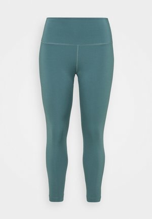 THE YOGA 7/8 PLUS - Leggings - hasta/dark teal green