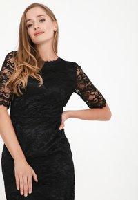 Madam-T - TROPICANA KR - Cocktail dress / Party dress - schwarz - 4