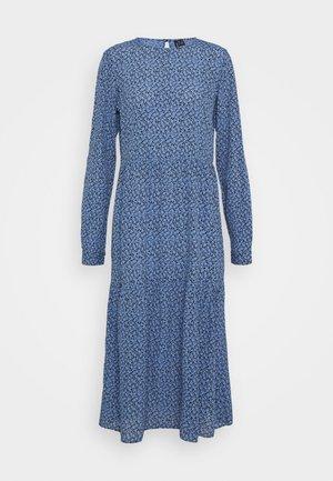 VMCATIE O NECK CALF DRESS - Kjole - granada sky