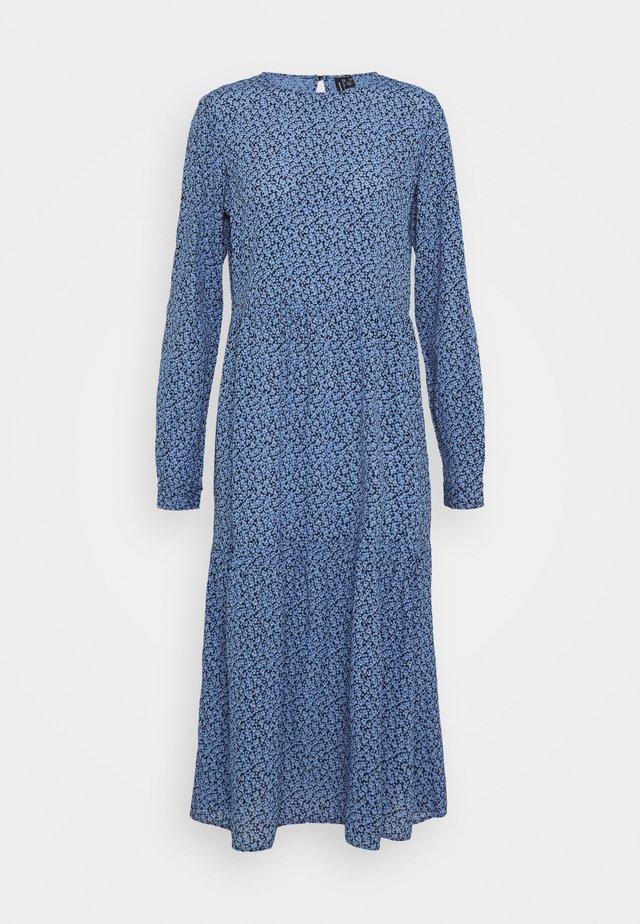 VMCATIE O NECK CALF DRESS - Korte jurk - granada sky
