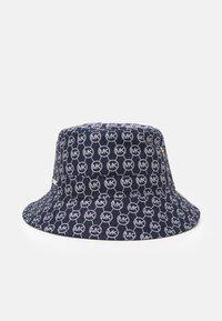 MICHAEL Michael Kors - LOGO BUCKET HAT - Chapeau - blue/white - 1