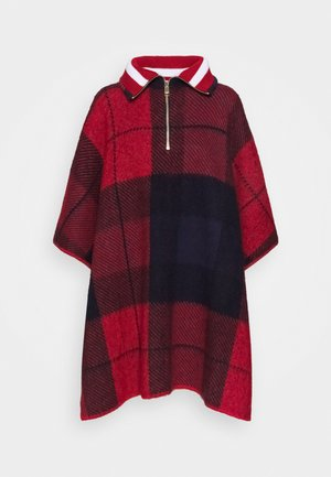 ICON ZIPPER CHECK - Cape - red/blue