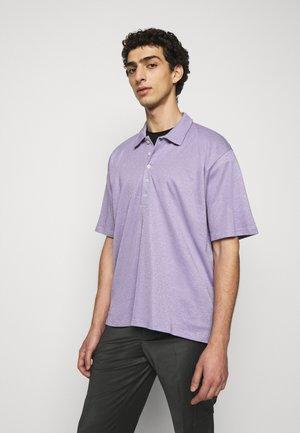 BRENT OVERSIZED - Polo shirt - purple haze