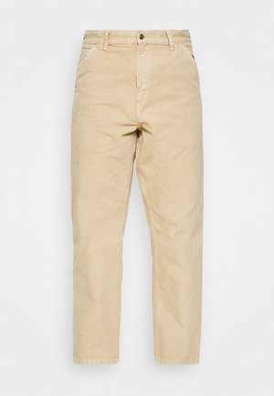 DEARBORN SINGLE KNEE PANT - Kangashousut - dusty brown