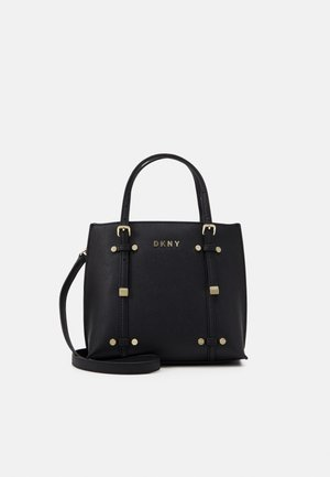 BO MINI - Handbag - black/gold-coloured