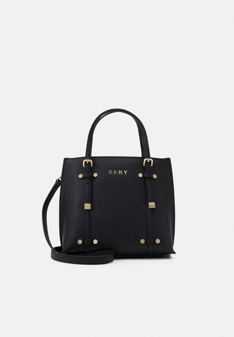 DKNY - BO MINI - Handbag - black/gold-coloured