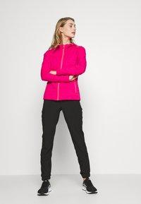 Campagnolo - WOMAN JACKET FIX HOOD - Fleece jacket - gloss melange - 1