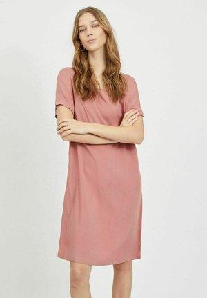 Day dress - old rose